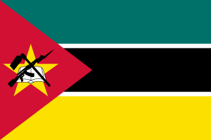 Flag of Mosambique